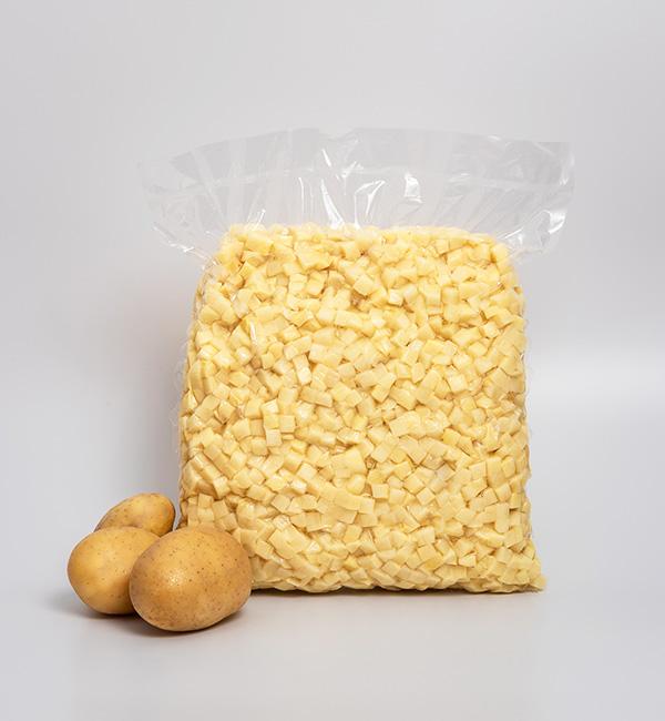 cartofi cuburi mici